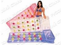 Матрас надувной для воды прозрачный (188х71 см), Intex (Интекс)