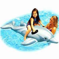 Дельфин надувной, Китай
