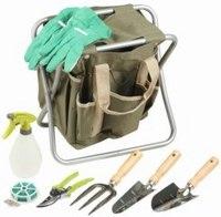 Скамейка складная с сумкой, с набором инструментов, Grinda (Гринда)