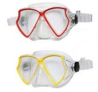 """Силиконовая маска для плавания""""авиатор pro"""", Intex (Интекс)"""