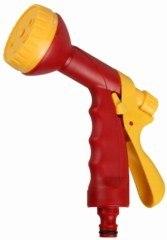 """Пистолет-распылитель """"classic quick-connection system"""", пластиковый, 6-ти позиционный, Grinda (Гринда)"""