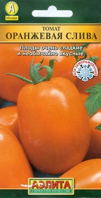 """Семена. томат среднеспелый """"оранжевая слива"""", Аэлита"""