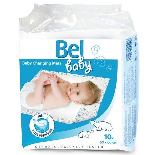 Одноразовые пеленки Bel Baby Changing Mats Впитывающие пеленки 60х60 см 10 шт., Hartmann