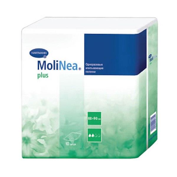 Одноразовые пеленки Molinea Plus Впитывающие пеленки 60 х 90 см 10 шт., Hartmann