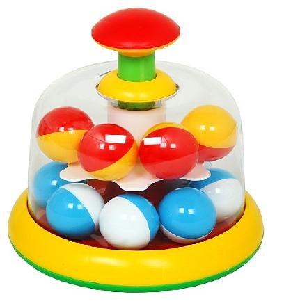 Развивающие игрушки Юла карусель с шариками, Стеллар