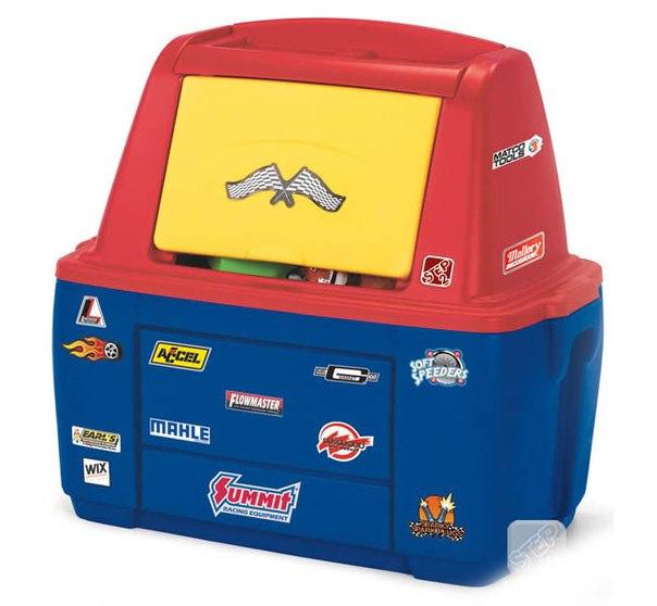 Ящики для игрушек Ящик для игрушек Маленький гонщик, Step 2