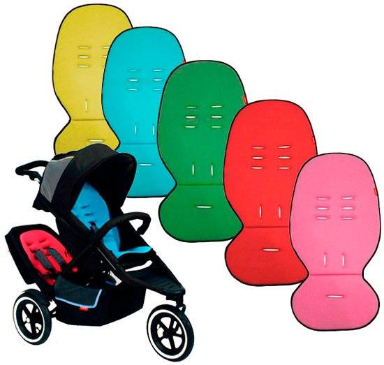 Аксессуары для колясок Мягкая вставка в прогулочные коляски Cushy Ride, Phil&Teds