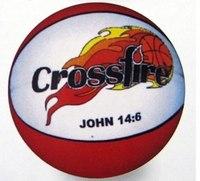 """Мяч баскетбольный """"кросфайер"""", Shantou Gepai"""