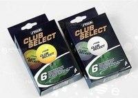 """Шарики для настольного тенниса, оранжевые """" club select"""", 6 штуки, Stiga"""