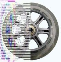 """Колеса для самокатов """"bz013-hr85a"""", Larsen (Ларсен)"""