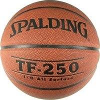Мяч баскетбольный tf-250 synthetic leather, размер 7, Spalding