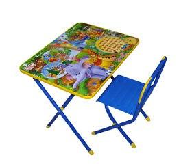 Столы и стулья Набор мебели №2 Медвежонок Винни, Дэми