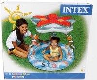"""Бассейн надувной с навесом """"маленькая звезда"""", Intex (Интекс)"""
