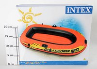"Надувная лодка ""explorer 200 pro"", Intex (Интекс)"