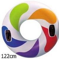 Круг для плавания с ручками, 122 см, Intex (Интекс)