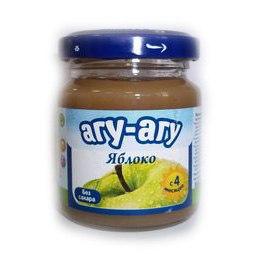 Пюре Пюре Яблоко без сахара с 4 мес. 100 г, Агу-Агу