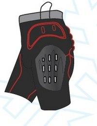 Легкие защитные шорты сноубордические (размер s), Destroyer