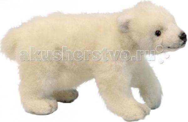 Мягкие игрушки Медвежонок белый 20 см, Hansa