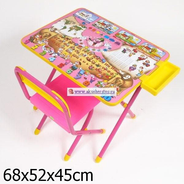 Столы и стулья Набор мебели №2 Веселые гномы, Дэми