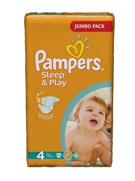 Подгузники Подгузники Sleep & Play Ромашка (7-14 кг) 68 шт., Pampers