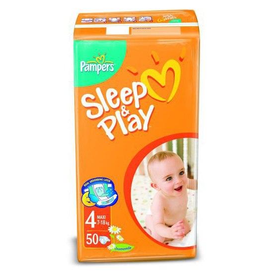 Подгузники Подгузники Sleep & Play Ромашка (7-14 кг) 50 шт., Pampers