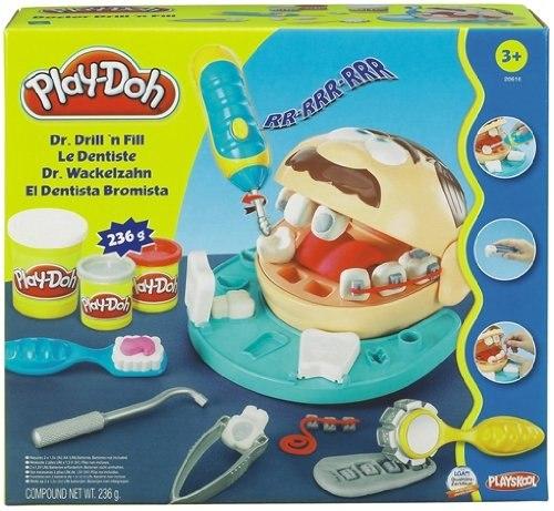 Пластилин Hasbro Набор пластилина мистер Зубастик, Play-Doh