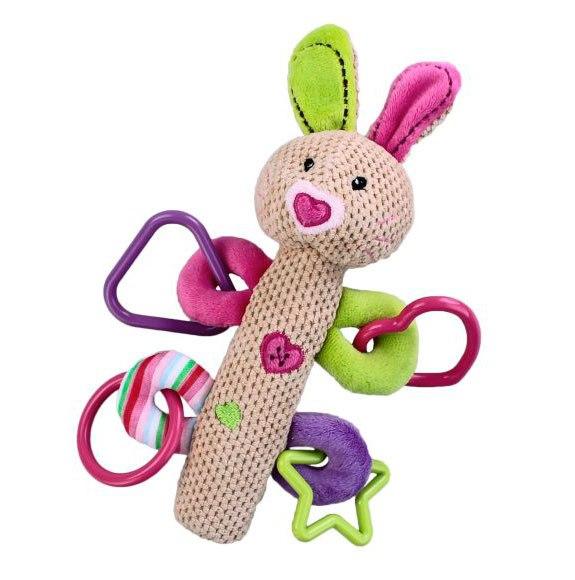 Развивающие игрушки Кролик с пищалкой, Жирафики