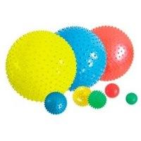 """Мяч """""""" гимнастический (массажный), 10 см (agb-02-10), Atemi"""