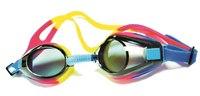 Очки для плавания (розовый/желтый), Atemi
