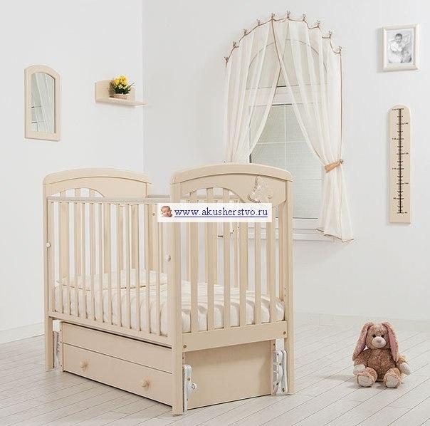Детские кроватки Джулия Бабочка (универсальный маятник), Гандылян