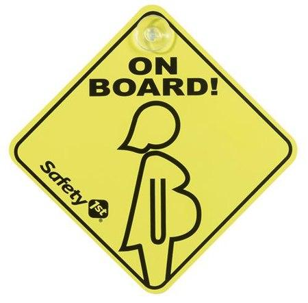 Аксессуары для автомобиля Беременная женщина в автомобиле, Safety 1st