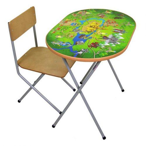 Столы и стулья Комплект детской мебели Досуг №302, Фея