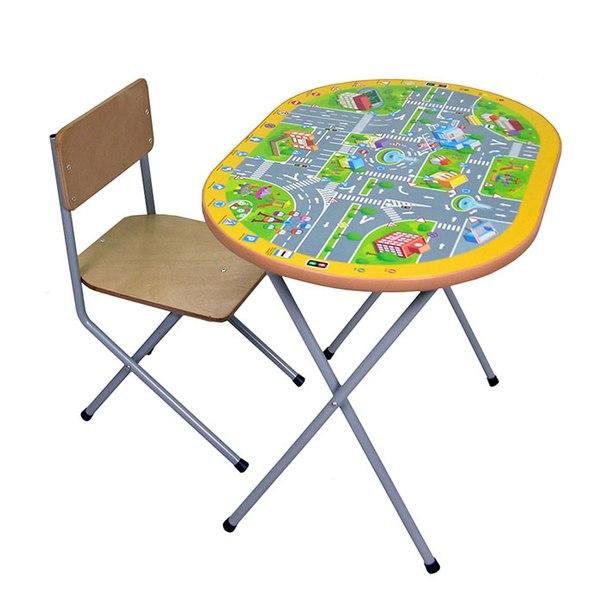 Столы и стулья Комплект детской мебели Досуг №202, Фея