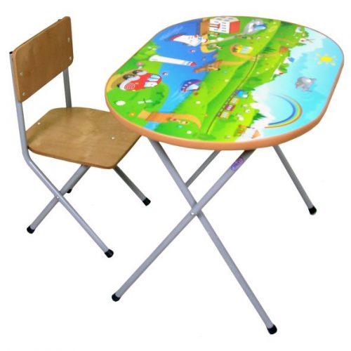 Столы и стулья Комплект детской мебели Досуг №102, Фея