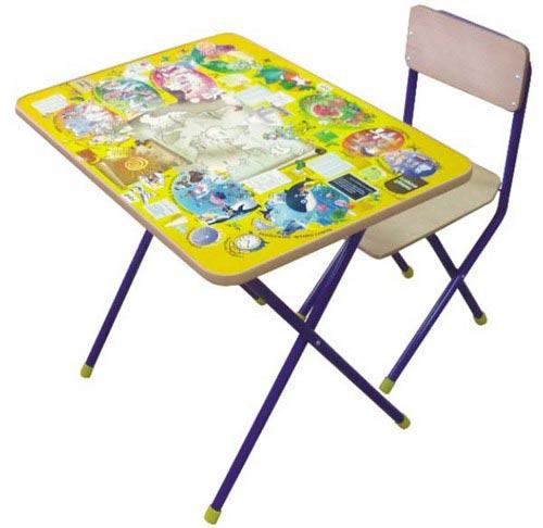 Столы и стулья Комплект детской мебели Досуг №301, Фея