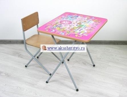 Столы и стулья Комплект детской мебели Досуг №201, Фея