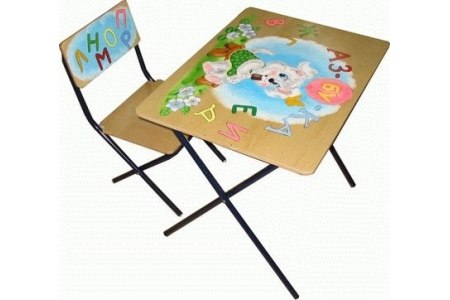 Столы и стулья Комплект детской мебели Досуг трафарет, Фея