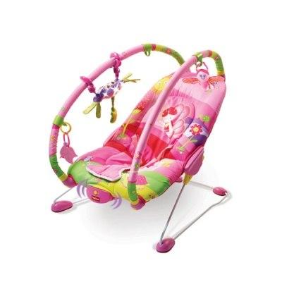 Кресла-качалки, шезлонги Баунсер Принцесса, Tiny Love