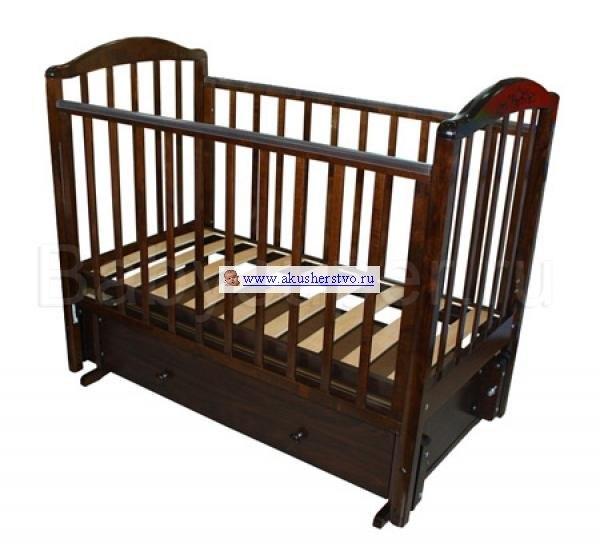 Детские кроватки Руслан С-725 (маятник универсальный), Можга (Красная Звезда)