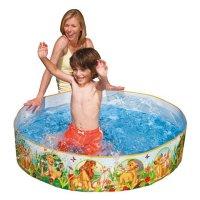 """Надувной бассейн жесткий """"король лев"""", 122х25 см, Intex (Интекс)"""