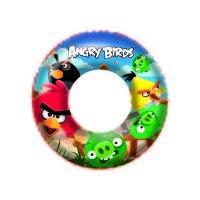Надувной круг для плавания angry birds, 56 см, Bestway