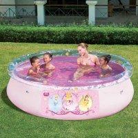 """Надувной бассейн fast set pool """"принцессы диснея"""", 244х66 см, 2300 л, Bestway"""