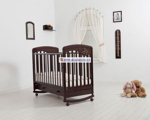 Детские кроватки Джулия Бабочка (качалка), Гандылян