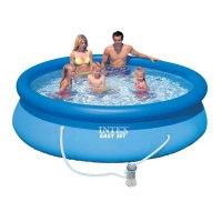 """Бассейн надувной """"easy set pool"""", 305х76 см+фильтр-насос 220 в, Intex (Интекс)"""
