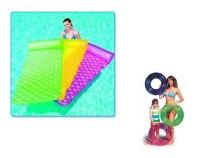 Надувной матрас, 213х86 см + подарок круг для плавания надувной, Bestway