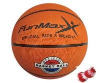 """Мяч баскетбольный (7""""), 500 грамм (с сеткой), FunMax"""