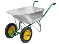 Тачка садово-строительная двухколесная, 90 литров, Grinda (Гринда)
