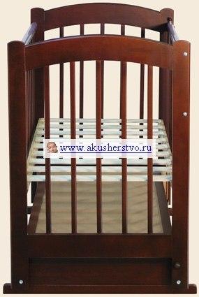 Детские кроватки Радуга №4 (маятник), Ведрусс
