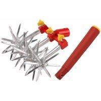Набор grinda садовый, культиватор 6-звездочный, ручка пластмассовая, Grinda (Гринда)