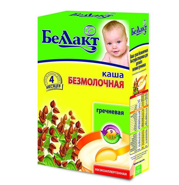 Каши Гречневая каша безмолочная с 4 мес., 250 г, Беллакт